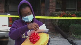 Anonymous donor makes good on $100K promise to Cy-Fair family who lost home in fire
