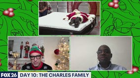 12 Days of Christmas - Day 10 The Charles Family