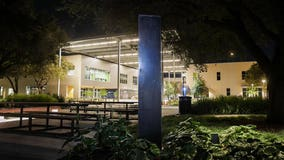 Monolith appears at community college campus in Central Texas