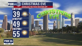 Cold front to bring cooler temperatures to Houston for Christmas Eve