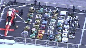 Coast Guard offloads $411M worth of cocaine, marijuana in Florida