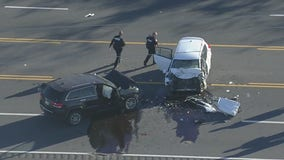 1 killed in two-vehicle crash in Spring, authorities investigating