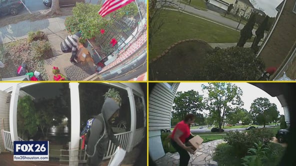 Harris Co. Sheriff's Office catching porch pirates with new plan