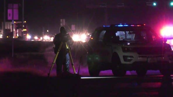 Man dies after being struck by vehicle on FM 1960 in north Harris County