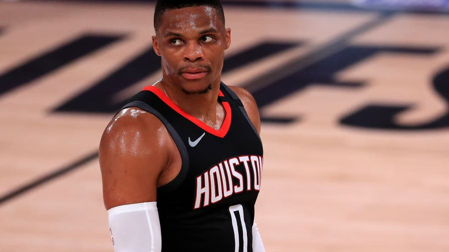 Houston Rockets agree to trade Russell Westbrook for John Wall, first round pick