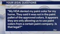 Your Legal Questions: Paint color; car break-ins; dog sitting