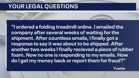 Your Legal Questions: arbitration; online purchase; warranty