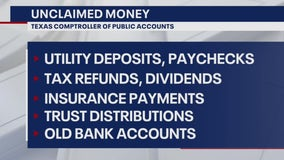 You may have unclaimed money with state, city, or county