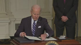Transcript of President Biden's speech before signing executive orders on climate action