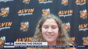 3-sport star Making the Grade at Alvin High School