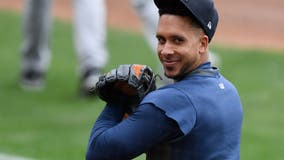 Houston Astros retain free-agent outfielder Michael Brantley: sources