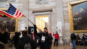 Woman shot in US Capitol dead, several officers injured after pro-Trump protesters charge building