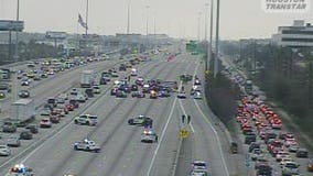 Interstate 10 westbound near Katy reopened following crash involving HPD officer