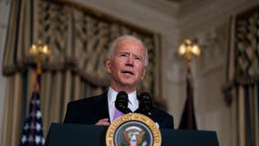 President Biden visits wounded soldiers at Walter Reed