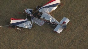 Small plane crashes in Waller County, pilot airlifted to the hospital