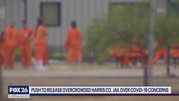 Push for release of some inmates at Harris Co. jail