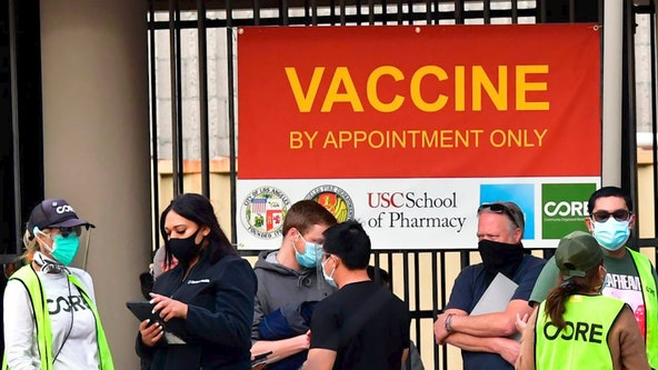 Houston's first mega site unable to vaccinate everyone with appointments