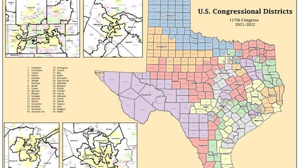 Redistricting will impact Texas politics for the next 10 years. Here's how it will work.