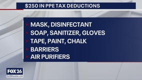 Teachers can now deduct $250 in PPE costs in classroom