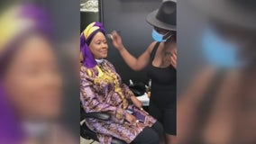 Pamper party thrown for 71-year-old cancer survivor