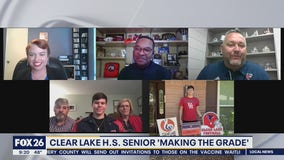 Clear Lake High School senior is Making the Grade
