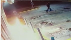 Houston man dumps flammable liquid outside gas station and lights it on fire