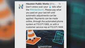 Houston mayor urging residents to not 'freak out' if you receive high water bill following winter storm