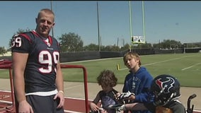 JJ Watt leaves behind a legacy off the field for the city of Houston