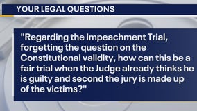 Your Legal Questions: Impeachment trial