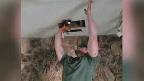 Arizona man heads to Texas to help repair water damaged homes