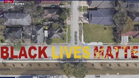 Black Lives Matter mural going up this weekend in Houston