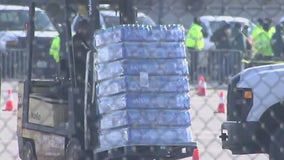 Water distribution sites set up to give residents clean water