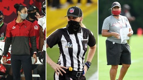 Breaking barriers: Female Bucs coaches, NFL referee make history