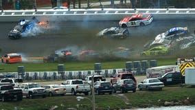 Multiple racers, including Ryan Newman, involved in Daytona 500 crash