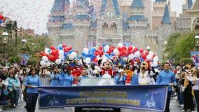 No Super Bowl parade at Walt Disney World this year