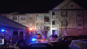 More than 50 residents displaced in The Woodlands apartment fire