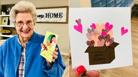 Send a Valentine's Day card to Texans living in senior communities