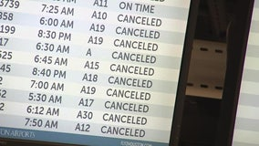 Houston Hobby Airport reopens, Bush airport to reopen Tuesday evening after closing due to ice