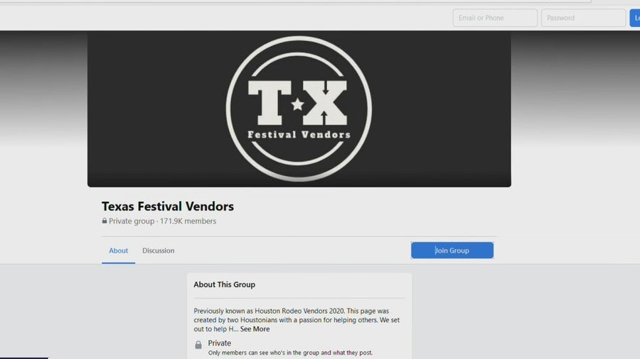 Local woman starts Facebook group to support RodeoHouston vendors