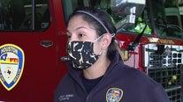 International Women's Day:  Houston firefighter