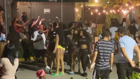 VIDEO: Police fire pepper balls to disperse Spring Break crowd in Florida