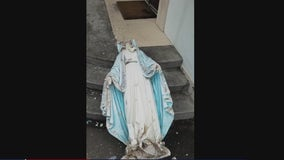 Dickinson church targeted by vandals, police investigating