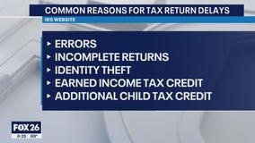 People reporting tax return delays