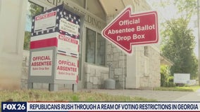 Voting restrictions pass in Georgia, is Texas next - What's Your Point?