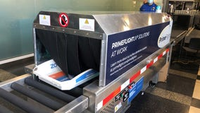 TSA looks to disinfect airport bins with ultraviolet lights to prevent COVID-19 spread