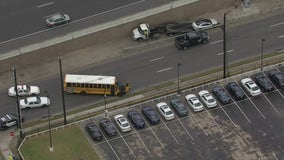 Alief ISD school bus involved in accident with 3 students on board