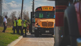 16 students, 2 adults evaluated after Katy ISD school bus accident