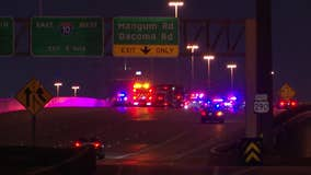 Boy in critical condition, 4 others hospitalized after Northwest Freeway crash