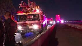 Man dead, woman injured after pickup truck crash in northwest Houston