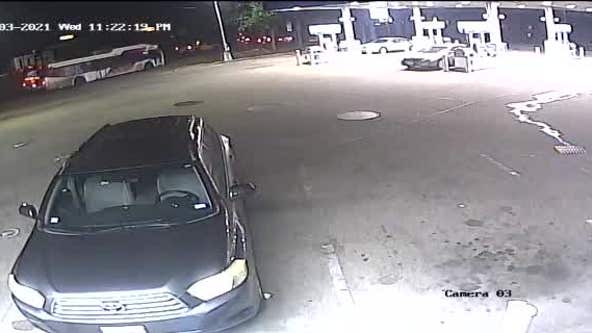 RAW: Surveillance video from officer-involved shooting in SW Houston